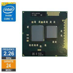 PROCESSEUR Processeur Intel Core i5-430M 2.26GHz SLBPN PGA988