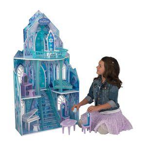 MAISON POUPÉE LA REINE DES NEIGES Maison de poupées Ice Castle -