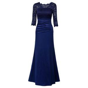 ROBE MIUSOL Femme Manches 3-4 Longue Robe de soirée et
