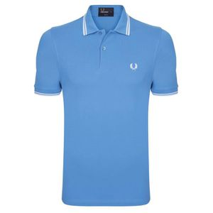 POLO Fred Perry Homme Polo Bleu Turquin
