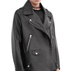 3c28f03690891 Veste en cuir femme elegant - Achat / Vente pas cher
