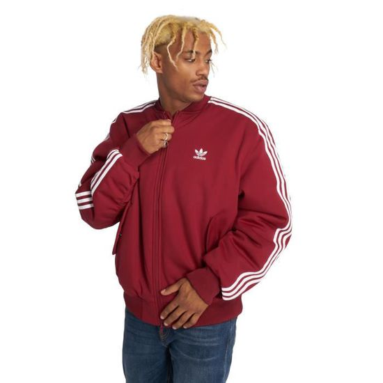 Adidas originals Homme Manteaux   Vestes   Veste mi-saison légère Ma1  Padded Rouge - 499952 - Achat   Vente blouson - Cdiscount 23cf336db69