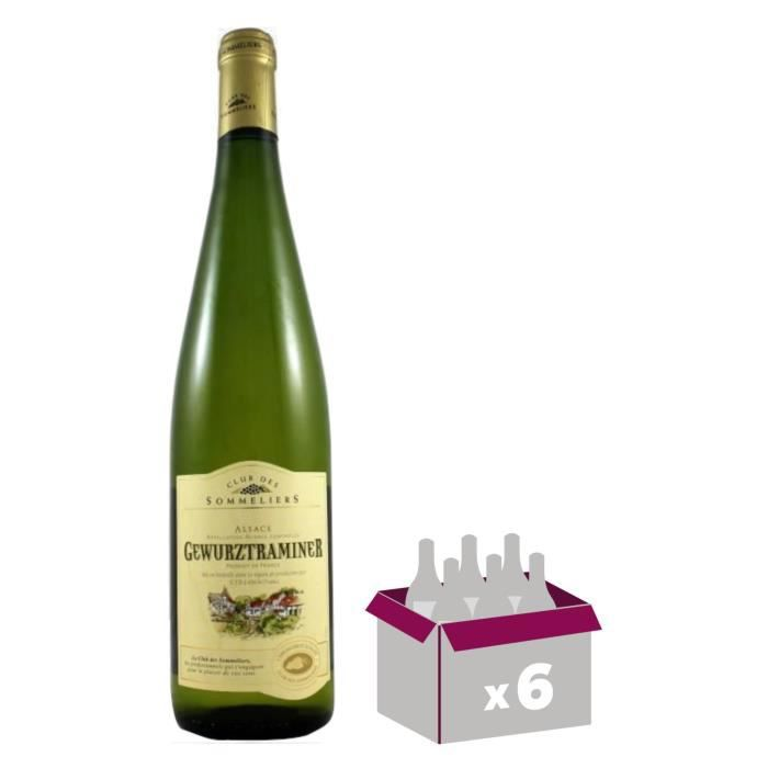 Gewurztraminer Vin d' Alsace - Blanc - Sec - 75 cl