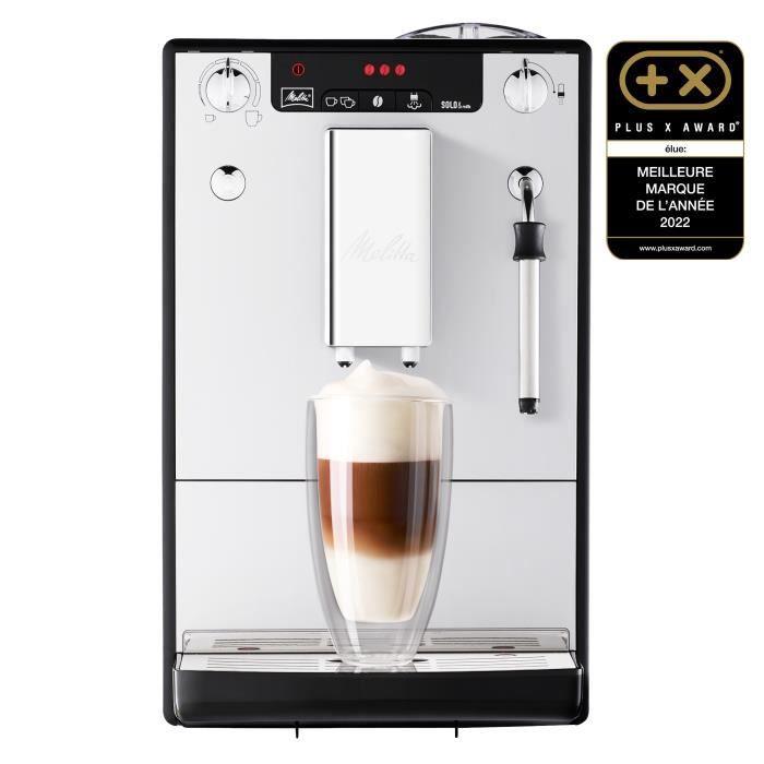 MELITTA E953-102 Machine expresso automatique avec broyeur intégré Caffeo Solo & Milk - Argent