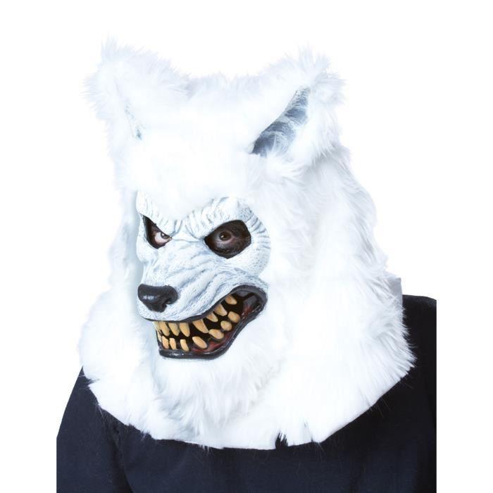 masque loup blanc achat vente jeux et jouets pas chers. Black Bedroom Furniture Sets. Home Design Ideas