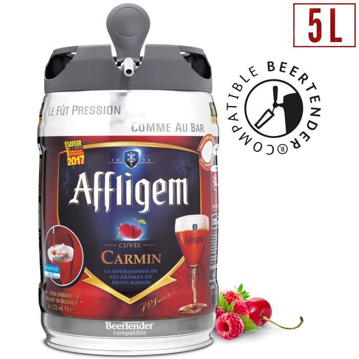 affligem cuvée carmine keg bidon de 5 litres incl. spigot 6,2% vol