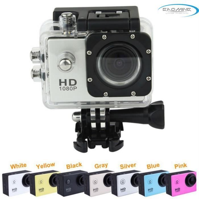 """CAMÉSCOPE NUMÉRIQUE Caméra HD 1080P 12MP avec écran LCD 1,5"""" blanche e"""