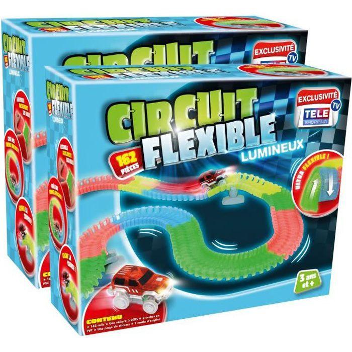circuit voiture lumineux achat vente jeux et jouets. Black Bedroom Furniture Sets. Home Design Ideas