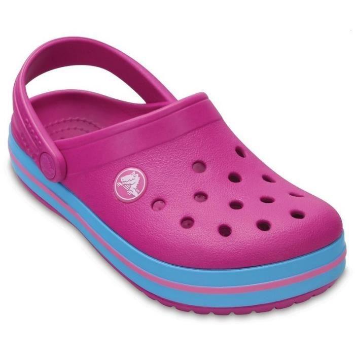 SABOT Crocs Sabots Fille Violet (27-28 - violet). Crocband Clog Vibrant  Violet b7969d7c3ea