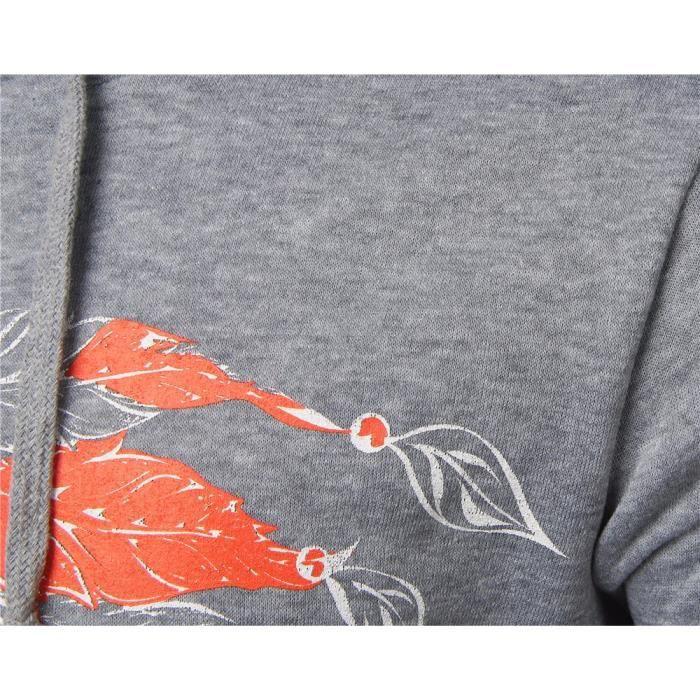Manteaux Veste Slim Sweatshirt Pull Capuche Manteau À Gris Imprimé D'hiver Hommes CtwqFxa