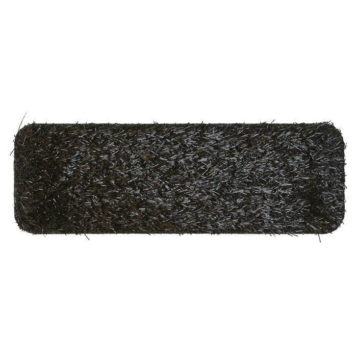 tapis gazon synthetique funky grass noir 100x200 par unamourdetapis tapis moderne achat. Black Bedroom Furniture Sets. Home Design Ideas