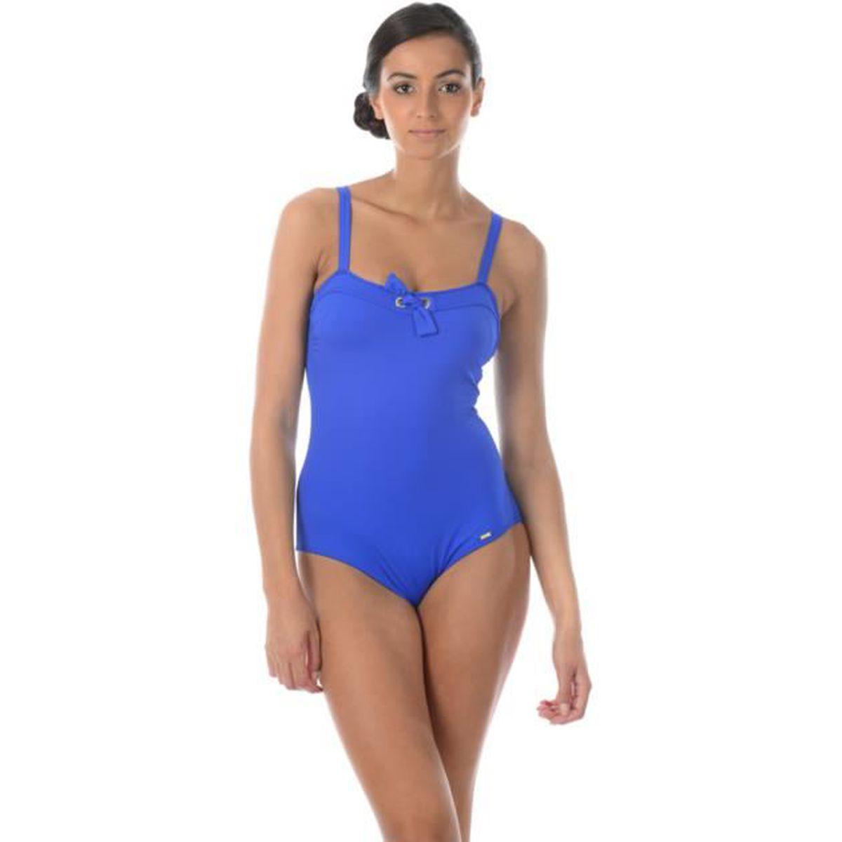e157cd1467 Maillot de bain Livia 1 Pièce Lavandou Michela Bleu Gitane Bleu Bleu -  Achat / Vente maillot de bain - Soldes d'été Cdiscount