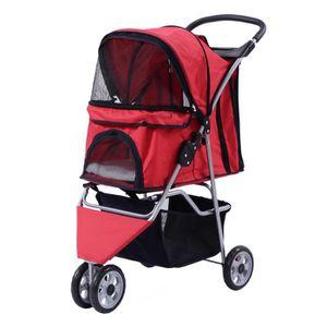82a59bb4094d5 POUSSETTE POUR ANIMAUX Poussette pour animaux chariot chien chat 3 roues