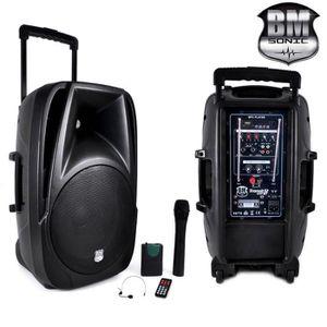ENCEINTE ET RETOUR Enceinte Mobile DJ TRANSIT12 700W 12