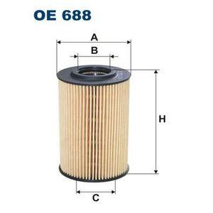FILTRE A HUILE FILTRON Filtre à huile OE688