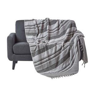 Couvre lit jet de lit achat vente couvre lit jet de lit pas cher cdiscount for Couvre canape rouge