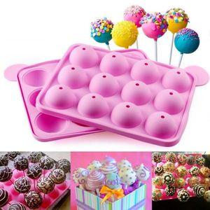 SET ACCESSOIRE CUISINE gâteau de silicone bâtons pop moule gâteau moule s