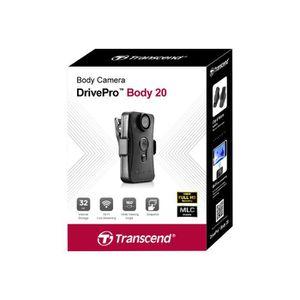 CAMÉSCOPE NUMÉRIQUE Transcend DrivePro Body 20 - Caméscope - 1080p - 3