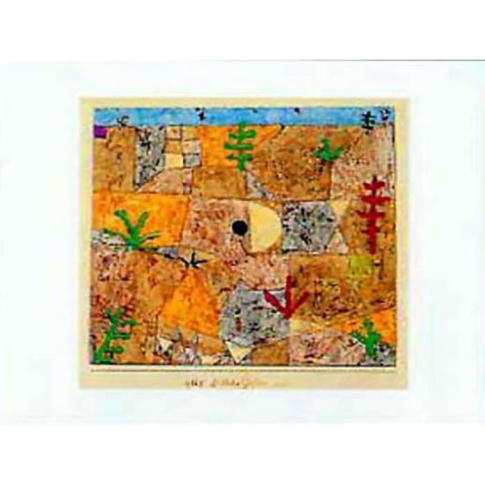 Paul Klee Poster Reproduction Garten Im Süden 60 X 80 Cm Achat