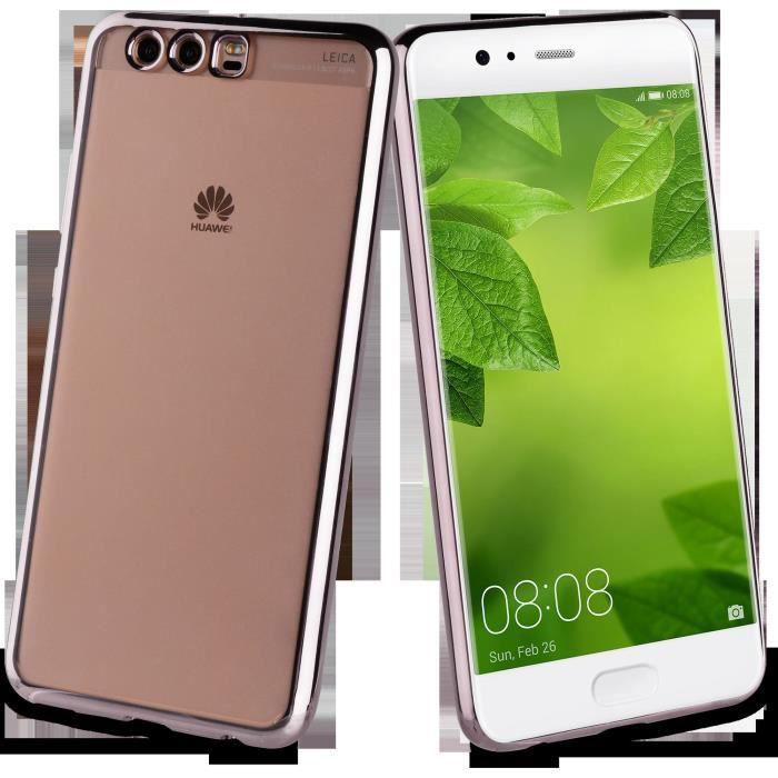 Muvit Life Coque Bling Gris foncé pour Huawei P10