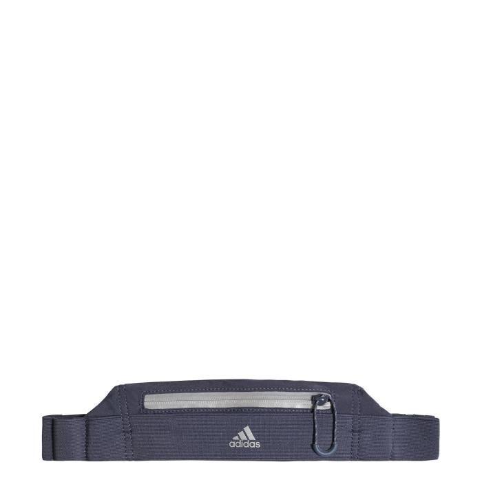8f3addd5a93c Ceinture adidas Run - bleu noir réfléchissant - TU - Prix pas cher ...