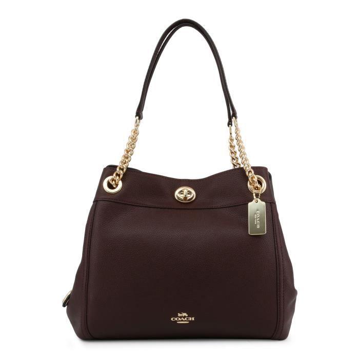 moitié prix meilleure qualité magasins d'usine Sacs porté épaule Femme Coach 36855_LIOXB
