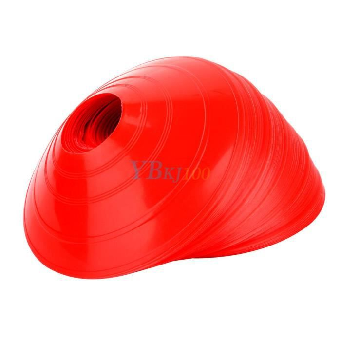 BALISAGE - CONE - PLOT 50PCS disques de marquage au sol PR Football forma