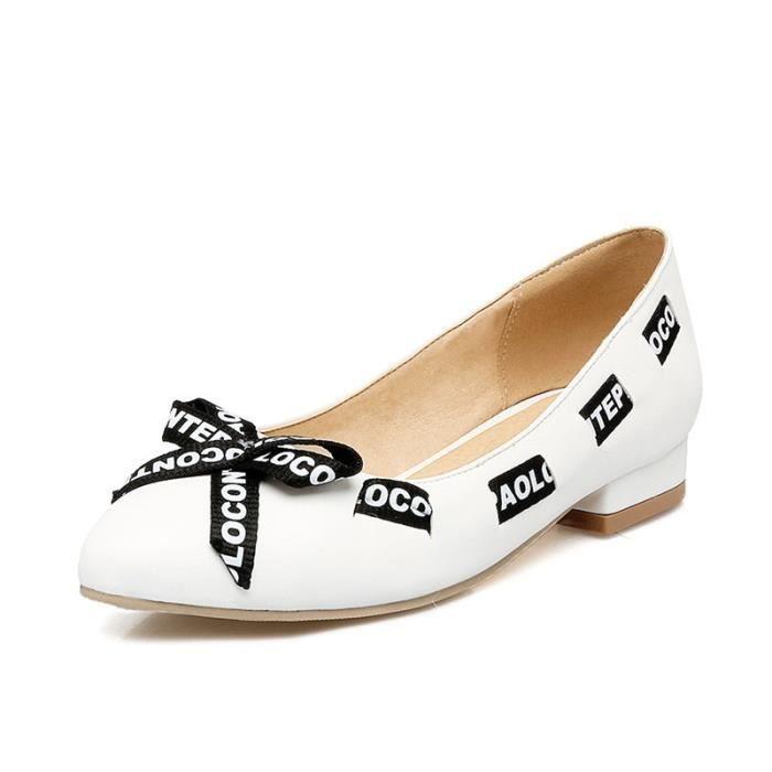 Chaussures Femme Sandales pointue élégante En PU Cuir Toutes les pointures de la 35 à la 43