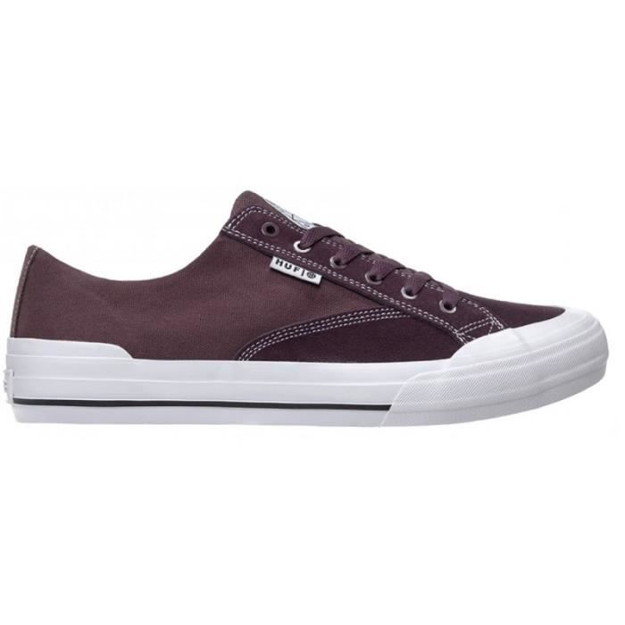 CHAUSSURES HUF CLASSIC LO ESS WINE skateshoes