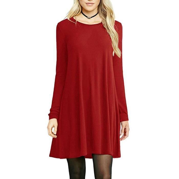 T-shirt Dress Casual femmes par 2M52D6 Taille-34
