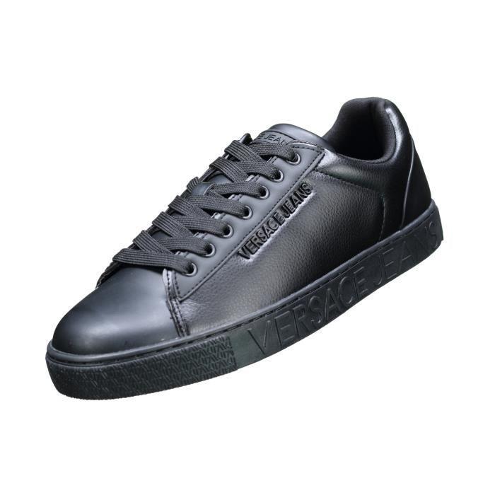 Basket Versace Jeans Eoysbsf5 899 Noir Noir Noir - Achat   Vente ... d340cb8f6d6