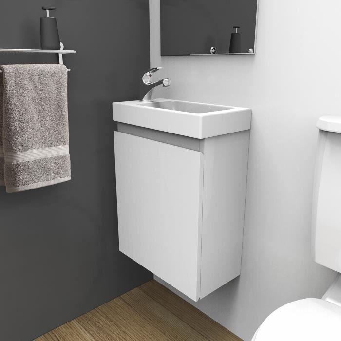 LAVE-MAIN Lave-mains L40,5 x H55 Blanc LISA