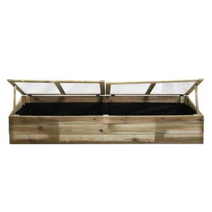 serre de jardin en bois achat vente serre de jardin en bois pas cher cdiscount. Black Bedroom Furniture Sets. Home Design Ideas