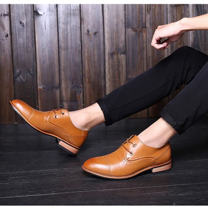 Chaussures mode hommes hommes sculptés Bullock ...