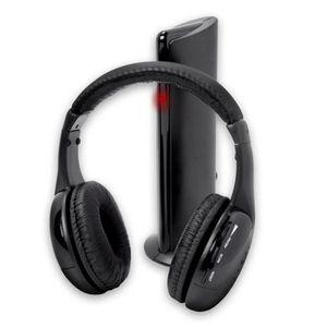 CASQUE - ÉCOUTEURS 5in1 Hi-Fi sans fil Casque Écouteur Casque pour PC