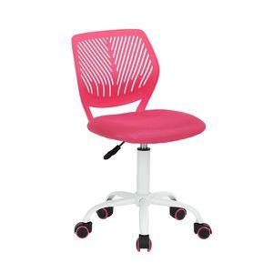 Chaise De Bureau Siege Chaise De Bureau Enfant Rose Haute Reglable