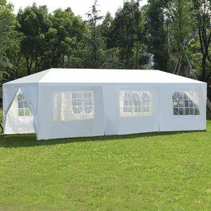 TONNELLE - BARNUM Tente de Réception 3×9M Comme Pavillon,Chapiteau o