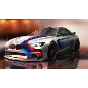 AFFICHE - POSTER Poster de la 2014 BMW Vision Gran Turismo Concept