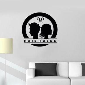 Tableau coiffure achat vente pas cher - Stickers muraux salon ...