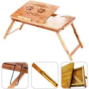 SUPPORT PC ET TABLETTE Table Portable pour Ordinateur, Plateau de Lit Pli