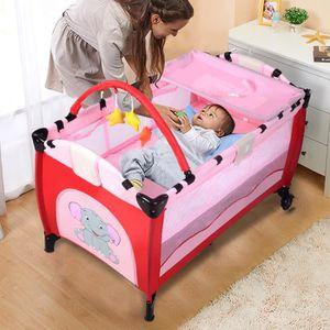 lit parc pliant achat vente pas cher. Black Bedroom Furniture Sets. Home Design Ideas