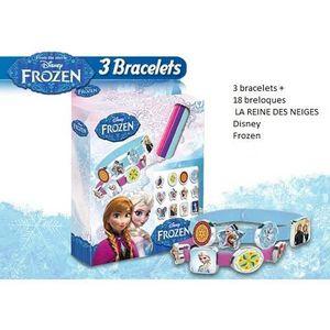 ASSEMBLAGE CONSTRUCTION Disney LA REINE DES NEIGES, bracelet Frozen kit de