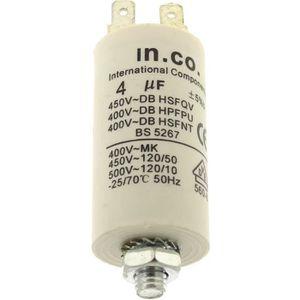 PIÈCE LAVAGE-SÉCHAGE  Condensateur 4µf 400v pour Refrigerateur Bosch, Co