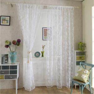 voilage blanc grande largeur achat vente voilage blanc grande largeur pas cher soldes d s. Black Bedroom Furniture Sets. Home Design Ideas