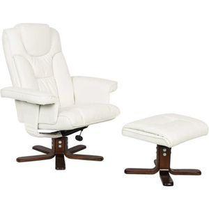 FAUTEUIL Fauteuil relax + repose-pieds