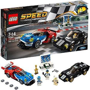 ASSEMBLAGE CONSTRUCTION Lego Speed Champions 75881 2016 Ford Gt & 1966 For