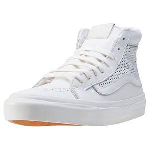 Baskets montantes Vans U SK8 HI Slim  Blanc - Achat / Vente basket  - Soldes* dès le 27 juin ! Cdiscount