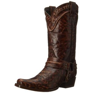 BOTTE Outlaw Buckstitch Western Boot DPXYW Taille-40 1-2
