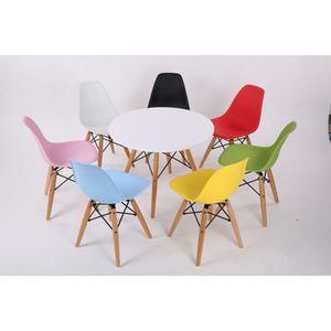 chaise tabouret bb chaise design retro enfant jaune - Chaise Et Table Enfant