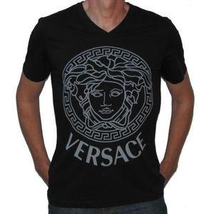 T-shirt versace Medusa Noir - L Noir - Achat   Vente t-shirt ... b309f2af843